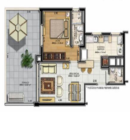 Pronto para morar. APTO 1 dormitório em OTIMO estado de conservação,       suite,   living c/ 2 ambientes,   churrasqueira no imóvel,   lavabo,    sala de jantar,    copa/cozinha,   área serviço com espera para máquina, água quente,    terraço,    esquadrias em ALUMÍNIO   - 1 vaga de garagem  - Escriturado   - Imediações: IVO CORSEUIL/ COL. SANTA INÊS  - construção em: 2015  - 78 m2 de área privativa   - 130 m2  de área total   - Pronto para morar,  em OTIMO estado de conservação,  Controle Remoto,   c/ gás central,  Jardim,  Gradil,  salão de festas,  TV à cabo,   - 4 aptos por andar